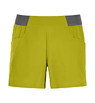 Ortovox Piz Selva Light - pantaloni corti trekking - donna, Yellow
