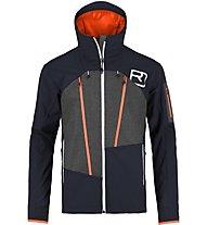 Ortovox Pordoi Jacket Giacca Freeride, Blue