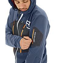 Ortovox Pordoi - Skitourenjacke mit Kapuze - Herren, Dark Blue