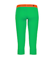 Ortovox Pantaloni 3/4 Rock'n'Wool donna, Crazy Green