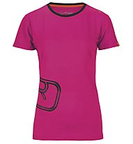 Ortovox Rock'n'Wool T-Shirt Damen, Very Berry