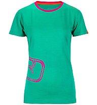 Ortovox Rock'n'Wool - maglia a maniche lunghe sci alpinismo - donna, Green