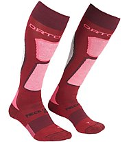 Ortovox Ski Rock'n Wool - Skisocken - Damen, Dark Red