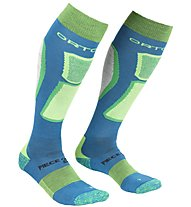 Ortovox Ski Rock'n Wool - Skisocken - Herren, Blue/Green