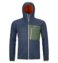 Ortovox Swisswool Piz Duan - giacca da alpinismo - uomo, Blue