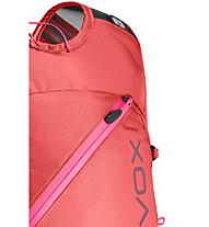 Ortovox Trace 18 S - zaino scialpinismo - donna, Red