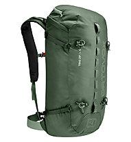 Ortovox Trad Zip 24 S - zaino arrampicata - donna, Green