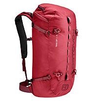Ortovox Trad Zip 24 S - zaino arrampicata - donna, Red
