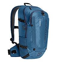 Ortovox Traverse 20 - zaino alpinismo, Light Blue/Black