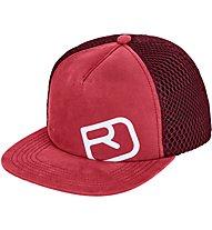 Ortovox Trucker Logo - Schirmmütze, Red
