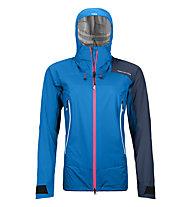Ortovox Westalpen 3L Light - giacca hardshell - donna, Blue