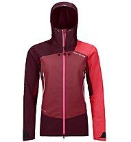 Ortovox Westalpen Softshell - giacca softshell - donna, Dark Red