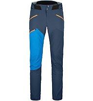 Ortovox Westalpen Softshell - Skitourenhose - Herren, Dark Blue/Light Blue
