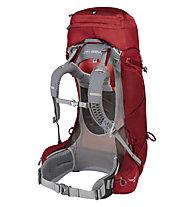 Osprey Ariel AG 55 - zaino trekking - donna, Red