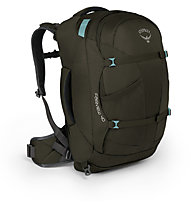 Osprey Fairview 40 - zaino - valigia, Dark Grey