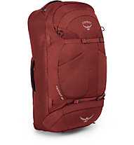 Osprey Farpoint 80 - Rucksack/Reisetasche, Red