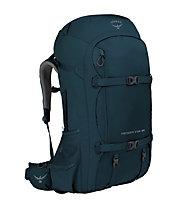 Osprey Farpoint Trek 55 - zaino trekking, Blue