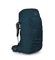 Osprey Farpoint Trek 75 - zaino trekking, Blue