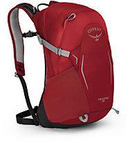 Osprey Hikelite 18 - zaino daypack, Red