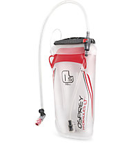Osprey Hydraulics LT Reservoir - sacca per idratazione, Trans./Red