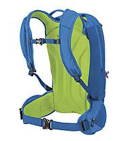 Osprey Kamber 22 - zaino scialpinismo, Blue/Green