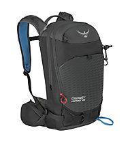 Osprey Kamber 22 - zaino scialpinismo, Black/Blue