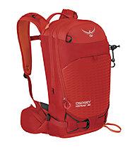 Osprey Kamber 22 - zaino scialpinismo, Red/Orange