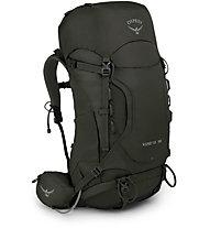 Osprey Kestrel 38 - zaino trekking, Dark Green