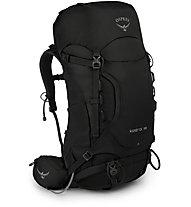 Osprey Kestrel 38 - zaino trekking, Black