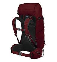 Osprey Kestrel 38 - zaino trekking, Dark Red