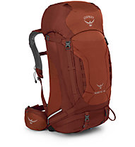 Osprey Kestrel 48 - zaino alpinismo, Red