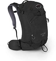 Osprey Kode 32 - zaino scialpinismo, Black
