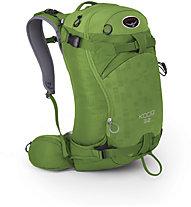 Osprey Kode 32 - zaino scialpinismo, Nitro Green