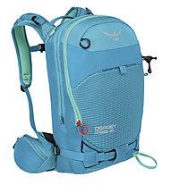 Osprey Kresta 20 - zaino freeride/scialpinismo, Blue