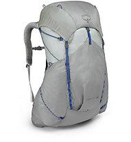 Osprey Levity 45 - zaino trekking, Silver Grey