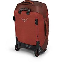 Osprey Rolling Transporter 40 - borsone/trolley, Red