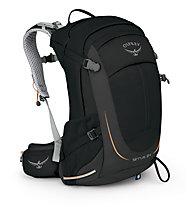 Osprey Sirrus 24 Damen-Trekkingrucksack, Black