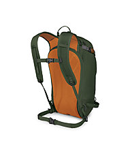 Osprey Soelden 22 - zaino scialpinismo/freeride, Dark Green