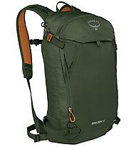Osprey Soelden 22 - Touren/Freeriderucksack, Dark Green