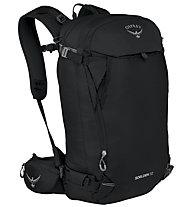 Osprey Soelden 32 - zaino scialpinismo/snowboard, Black