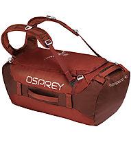 Osprey Transporter 40 - Reisetasche, Red/White