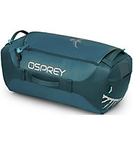 Osprey Transporter 65 - borsa - zaino, Green Blue