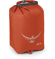 Osprey Ultralight Drysack 20L - sacca impermeabile, Orange