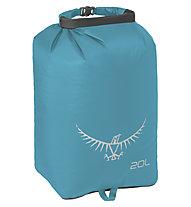 Osprey Ultralight Drysack 20L - sacca impermeabile, Light Blue