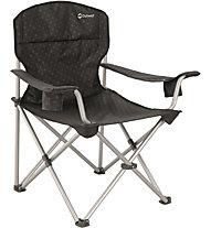 Outwell Catamarca Arm Chair XL - sedia da campeggio, Black