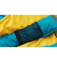Outwell City 150 - sacco a pelo sintetico, Blue/Yellow