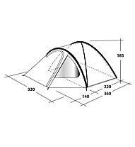 Outwell Cloud 5 - Campingzelt