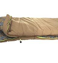 Outwell Commodore - Schlafsack mit Kunstfell, Beige