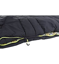 Outwell Commodore Lux XL - Kunstfaserschlafsack, Black/Beige