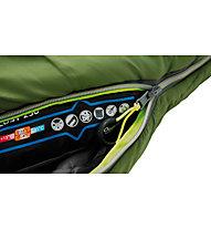 Outwell Cosy 2300 - Drei-Jahreszeiten-Schlafsack, Green